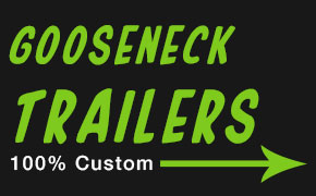 Custom Goose Neck Trailers for Sale
